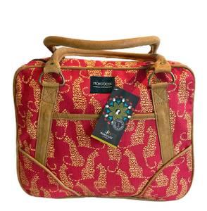 Bilde av Small Daybag - Rød veske med dyreprint
