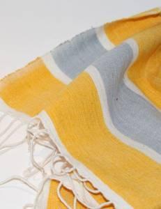 Bilde av Lite håndkle - Baro gul 50x80 cm