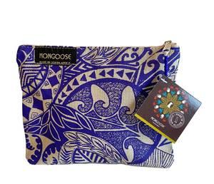 Bilde av Mappe med glidelå -Koru indigo blå