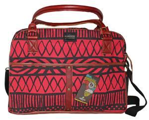 Bilde av Liten bag - Reiseveske Red Batikk rød